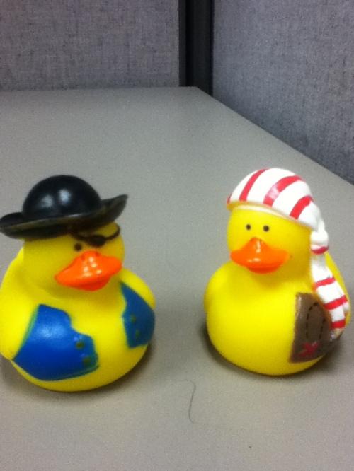 Ahoy, me duckies!