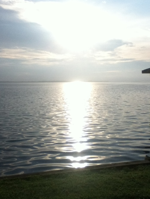 Sunrise over the Currituck Sound