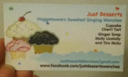 Just Desserts Card